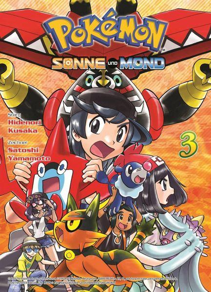 Buch-Reihe Pokémon - Sonne und Mond