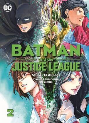 Buch-Reihe Batman und die Justice League