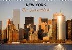 NEW YORK en maxicolor (Calendrier mural 2020 DIN A3 horizontal)