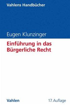 Einführung in das Bürgerliche Recht (eBook, PDF) - Klunzinger, Eugen