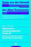 Historisch-chronologische Texte III (eBook, PDF)