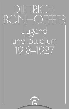 Jugend und Studium 1918-1927 (eBook, PDF)