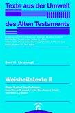 Weisheitstexte II (eBook, PDF)
