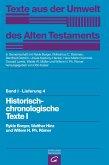 Historisch-chronologische Texte I (eBook, PDF)