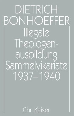 Illegale Theologenausbildung: Sammelvikariate 1937-1940 (eBook, PDF)