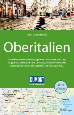 DuMont Reise-Handbuch Reiseführer Oberitalien (eBook, PDF) - Nenzel, Nana Claudia