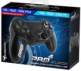 SUBSONIC Pro4 Wirless Controller, black für PS4/PS3/PC