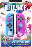 SUBSONIC Custom Kit for Joy-Con, Just Dance, Siliconhülle und 2 Thumb Grips (Nintendo Switch)