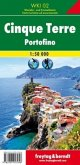 Freytag & Berndt Wander-, Rad- und Freizeitkarte Cinque Terre - Portofino, Wanderkarte 1:50.000, WKI 02