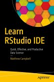 Learn RStudio IDE (eBook, PDF)