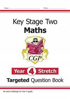 KS2 Maths Targeted Question Book: Challenging Maths - Year 4 Stretch - Books, CGP