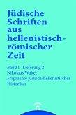 Fragmente jüdisch-hellenistischer Historiker (eBook, PDF)