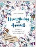 Handlettering mit Aquarell (Mängelexemplar)