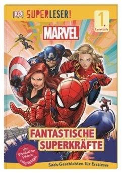 SUPERLESER! MARVEL Fantastische Superkräfte / Superleser 1. Lesestufe Bd.14 - Saunders, Catherine