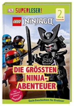 SUPERLESER! LEGO® NINJAGO® Die größten Ninja-Abenteuer / Superleser 2. Lesestufe Bd.23 - March, Julia