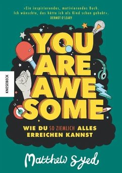 You are awesome - Syed, Matthew