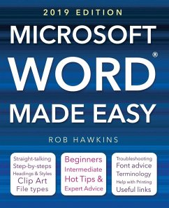 Microsoft Word Made Easy (2019 edition) - Hawkins, Rob