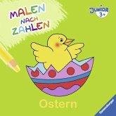 Malen nach Zahlen junior: Ostern (Mängelexemplar)