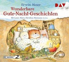 Wunderbare Gute-Nacht-Geschichten, 1 Audio-CD - Moser, Erwin