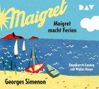 Maigret macht Ferien, 5 Audio-CDs