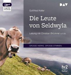 Die Leute von Seldwyla, 2 MP3-CDs - Keller, Gottfried