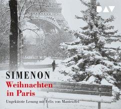 Weihnachten in Paris, 3 Audio-CDs - Simenon, Georges