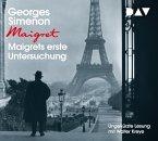 Maigrets erste Untersuchung, 5 Audio-CD