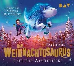 Der Weihnachtosaurus und die Winterhexe, 4 Audio-CDs - Fletcher, Tom
