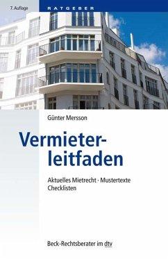 Vermieterleitfaden - Mersson, Günter