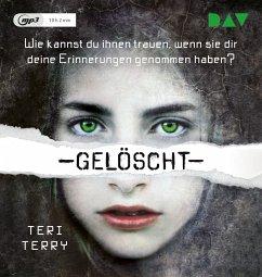 Gelöscht / Gelöscht-Trilogie Bd.1 (1 MP3-CDs) - Terry, Teri