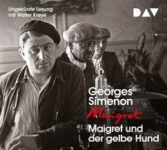 Maigret und der gelbe Hund, 4 Audio-CDs - Simenon, Georges