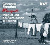 Maigret und das Verbrechen in Holland / Kommissar Maigret Bd.8 (4 Audio-CDs)