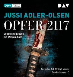 Opfer 2117 / Carl Mørck. Sonderdezernat Q Bd.8 (2 MP3-CDs) - Adler-Olsen, Jussi