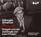 Maigret und der Gehängte von Saint-Pholien / Kommissar Maigret Bd.3 (4 Audio-CDs)