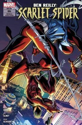 Buch-Reihe Ben Reilly: Scarlet Spider