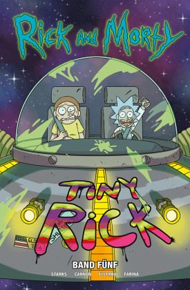 Buch-Reihe Rick and Morty