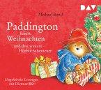 Paddington feiert Weihnachten und drei weitere Hörbuchabenteuer, 1 Audio-CD