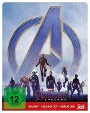 Avengers: Endgame (Blu-ray 3D + 2 Blu-rays, Steelbook)