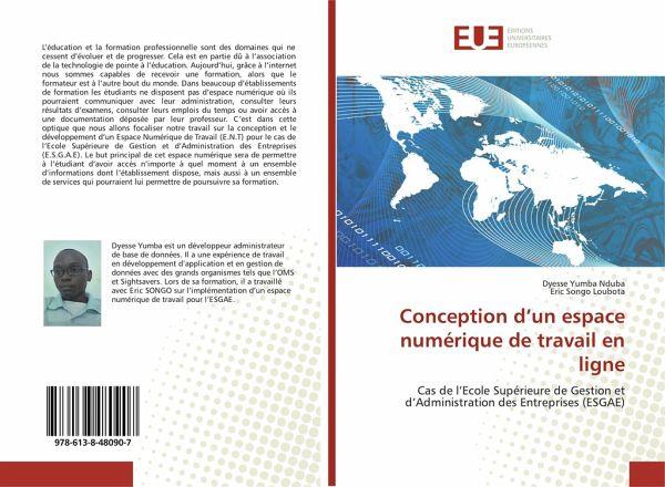 Conception Dun Espace Numérique De Travail En Ligne Von Dyesse