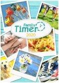 Family-Timer A5 12 Monate 2020 Leporello, Standard einzeln