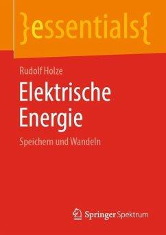 Elektrische Energie - Holze, Rudolf