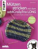 Mützen stricken mit dem addiCraSyTrio LONG (kreativ.kompakt.)