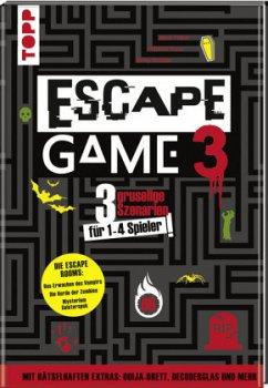 Escape Game 3 HORROR - Prieur, Rémi; Vives, Mélanie; Strobbe, Rémy