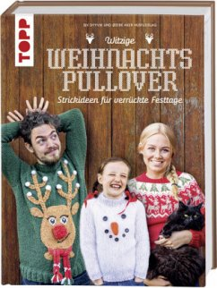 Witzige Weihnachtspullover - Dyvik, Siv