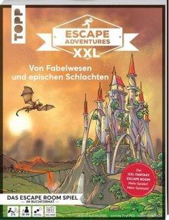 Escape Adventures XXL - Von Fabelwesen und epischen Schlachten - Frenzel, Sebastian; Zimpfer, Simon