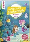 Das Hin-und-weg-Stickerbuch Meerjungfrauen