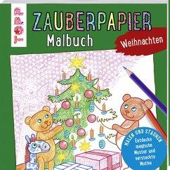 Zauberpapier Malbuch Weihnachten - Pautner, Norbert