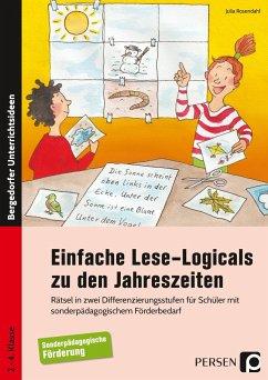 Einfache Lese-Logicals zu den Jahreszeiten - Rosendahl, Julia
