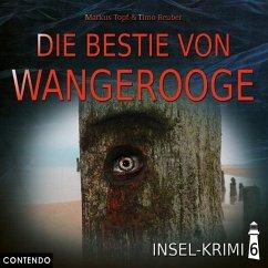 Insel-Krimi - Die Bestie von Wangerooge, 1 Audio-CD - Topf, Markus; Reuber, Timo