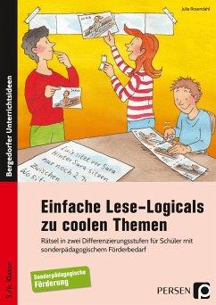 Einfache Lese-Logicals zu coolen Themen - Rosendahl, Julia